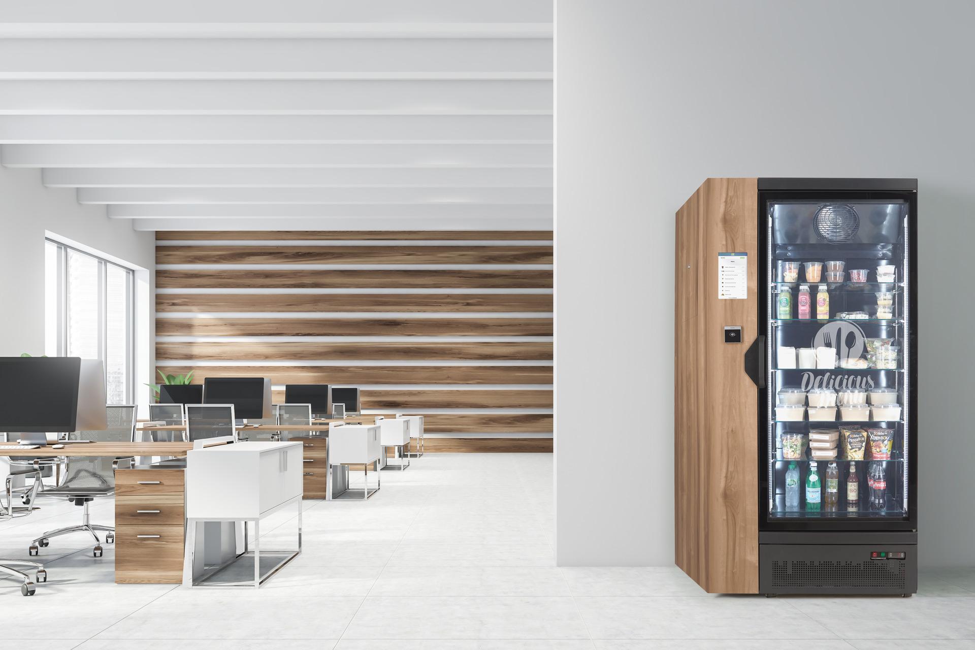 frigos connecté bureaux
